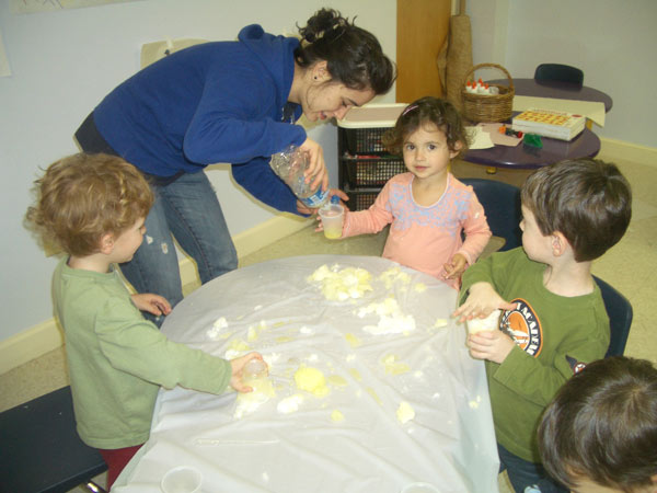 Our Preschool in action!